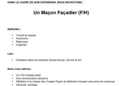 MACON FACADIER